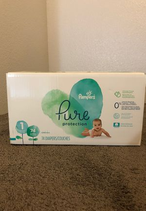 Pampers Pure size 1 super pack for Sale in Mililani, HI