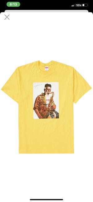 Supreme Pharaoh Sanders Tee Yellow Medium for Sale in Chandler, AZ
