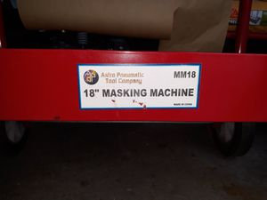 MASKING MACHINE FOR SALE for Sale in BETHEL, WA