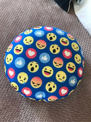 Emoji decorated pillow for Sale in Fairfield, CA