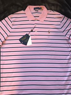 Ralph Lauren Polo Short Sleeve Size L Pink for Sale in Dallas,  TX