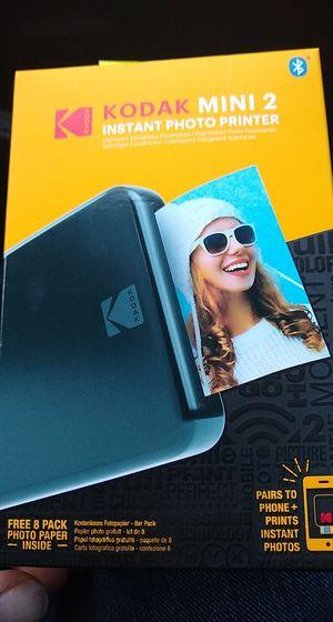 Kodak mini 2 portable printer for Sale in Savannah, GA