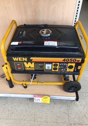 WEN GENERATOR for Sale in Chicago, IL