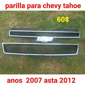 2007,2008,2009,2010,2011, 2012 chevy tahoe grill for Sale in Austin, TX