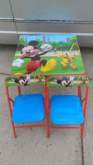 Kids play table and chairs for Sale in Portland, OR