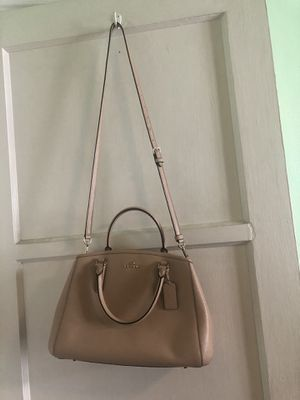 Coach hand bag with shoulder strap for Sale in Long Beach, CA