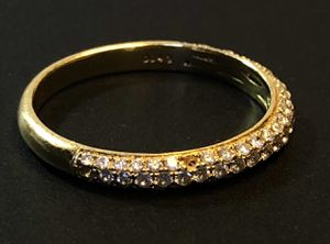 Diamond and 18K gold ring - certified & appraised for Sale in New York, NY