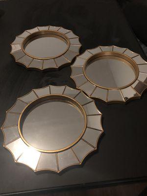6 wall decor mirrors for Sale in Waretown, NJ