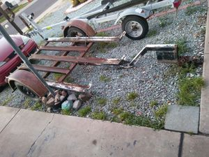 Tilt Trailer Dolly Motorcycles Quads RVs Convertible Flatbed for Sale in Phoenix, AZ