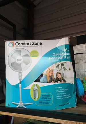 """16"""" oscillating pedestal fan for Sale in Keller, TX"""