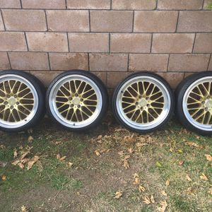 Ace Alloy Wheels And Tires 19x9.5 for Sale in West Covina, CA