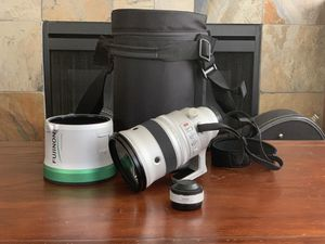 Fuji XF 200mm f/2 Lens and 1.4x Teleconverter for Sale in Seattle, WA