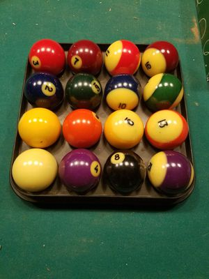 Rare set of billiard balls for Sale in Colorado Springs, CO
