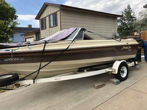 1987 Ebco Monty Carlo boat & trailer for Sale in Aurora, CO