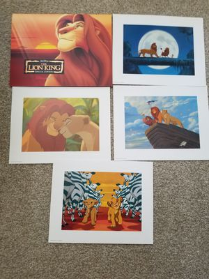 The Lion King Disney Lithograph Set for Sale in Philadelphia, PA