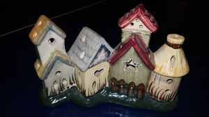 Birdhouse tealight candle decor for Sale in Chino, CA