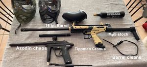 Paint Ball Airguns and accessories for Sale in Miami, FL