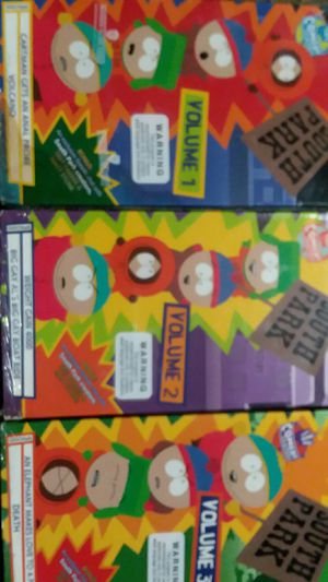 South Park Volume 1, 2 & 3 on VHS for Sale in Fair Oaks, CA