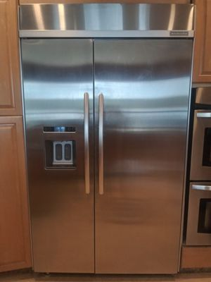 KitchenAid Stainless Steel side by side refrigerator for Sale in FL, US