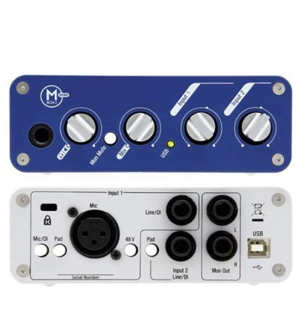 Digidesign Mbox 2 Mini Portable USB-Powered Pro Tools LE Audio Workstation