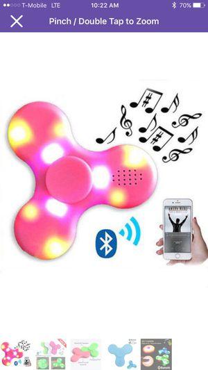Lot of 10 Bluetooth led fidget spinner for Sale in Atlanta, GA