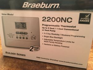 Programmable thermostat for gas or electric for Sale in Nashville, TN
