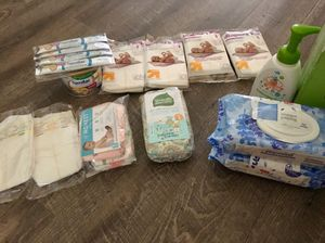 Diapers wipes formula and baby wash. for Sale in Austin, TX