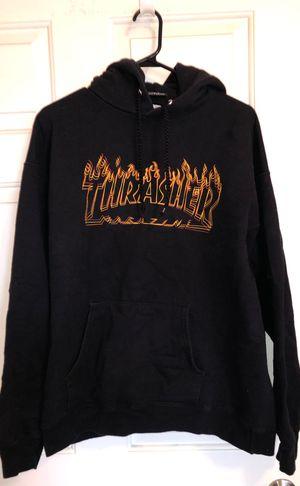 Black Thrasher Hoodie for Sale in Hesperia, CA