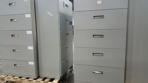 5 drawers Lateral file cabinet $120 each for Sale in Lorton, VA