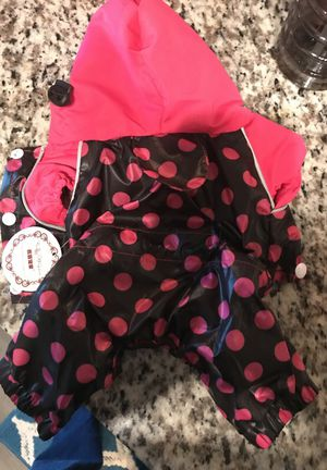 Xs Puppy Raincoat NEW for Sale in Jacksonville, FL
