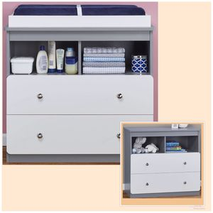 New!! Changing Table,Nursery,Dresser,Bedroom,Chest w/2 Cubbies,2 Drawer Dresser for Sale in Phoenix, AZ