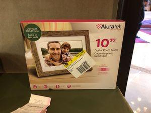 Alutrak digital photo frame for Sale in Brentwood, MD