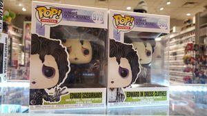 EDWARD SCISSOR HANDS Funko POP! SET # 979 & # 980 for Sale in Los Angeles, CA