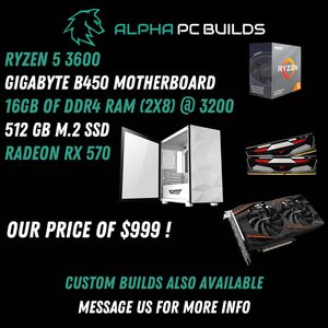Gaming Computer for Sale in Fresno, CA