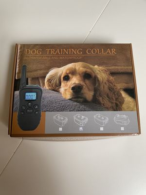 Dog Training Collar, rechargeable and waterproof for Sale in Preston, WA