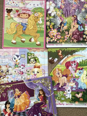 Fun little girls puzzles for Sale in Kissimmee, FL