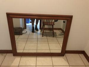 Wood mirror for Sale in Orlando, FL