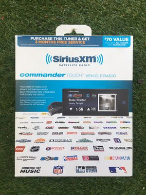 SIRIUS XM Commander Touch Vehicle Radio for Sale in Los Angeles, CA