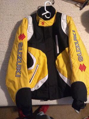 Suzuki motorcycle jacket for Sale in Hoschton, GA