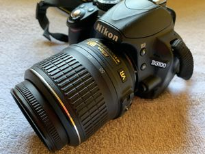 Nikon D3100 Camera With Nikon Zoom Lens for Sale in Greensboro, NC
