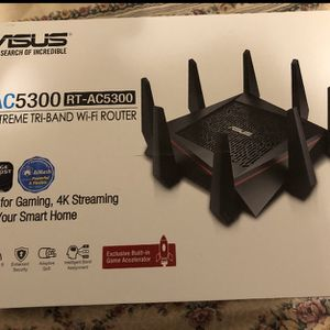 ASUS RT-AC5300 AC5300 Tri-band WiFi Gaming Router for Sale in Beverly Hills, CA