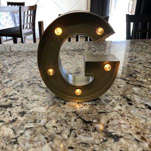 """Light Up """"G"""" for Sale in Glendale, AZ"""