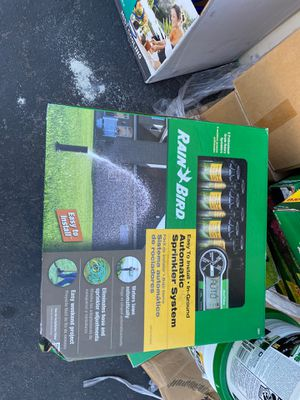 Rain Bird Easy to Install In-Ground Automatic Sprinkler System for Sale in Garden Grove, CA