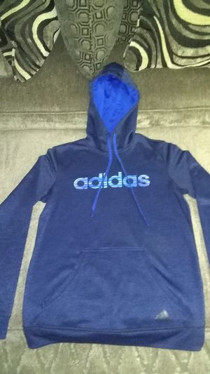 Ladies Adidas pullover hoodie,size small navy blue for Sale in St. Louis, MO
