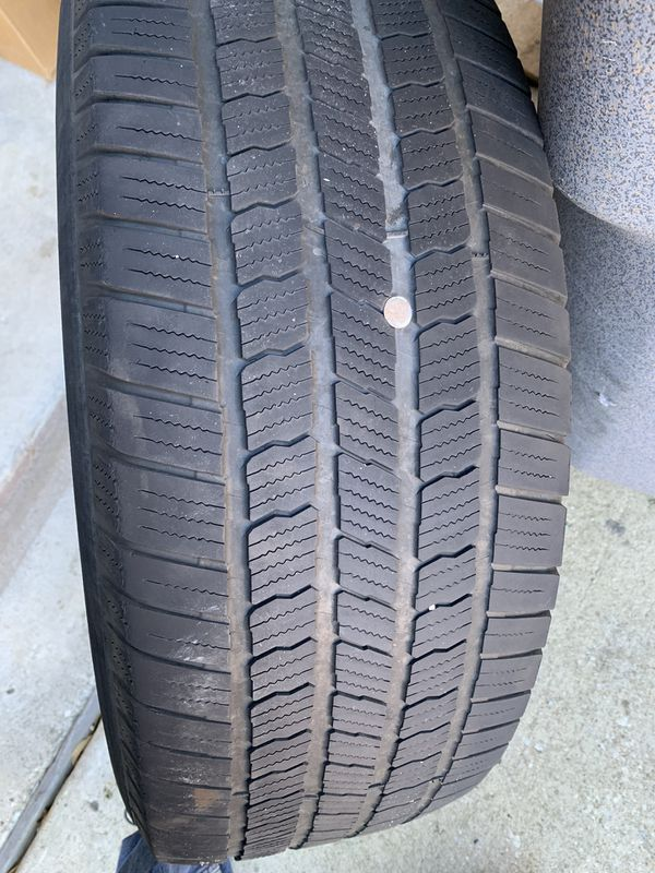 Michelin 275/60R20 tires and wheels