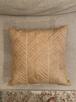 NEW- Boho Faux Leather Throw Pillow for Sale in Las Vegas,  NV