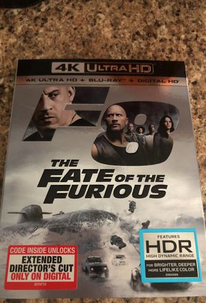 The Fate of the Furious Brand New Movie never opened for Sale in Hialeah, FL