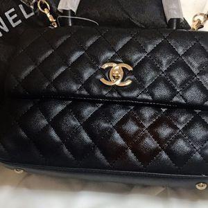 CHANEL BAG, BLACK for Sale in Cicero, IL