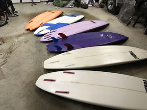 Taylor surfboards. Too many to list. for Sale in Newport Beach, CA