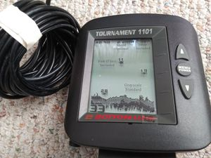 Bottom line fish finder 1101 $45 or best offer for Sale in Saint CLR SHORES, MI